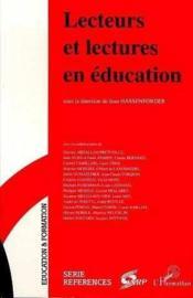 Lecteurs et lectures en éducation - Couverture - Format classique