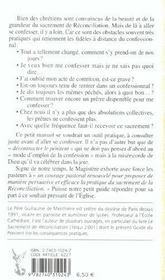 Guide Pratique Du Penitent - 4ème de couverture - Format classique