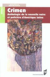 Crimen Anthologie De La Nouvelle Noire Et Policiere D Amerique - Intérieur - Format classique