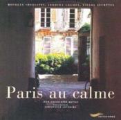 Paris au calme - Couverture - Format classique