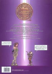 Tessa, agent intergalactique t.3 ; beau comme un diyo - 4ème de couverture - Format classique