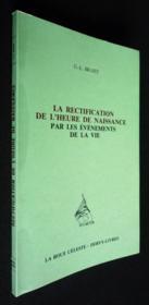 Rectification De L'Heure - Couverture - Format classique