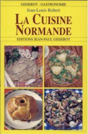 La Cuisine Normande - Couverture - Format classique