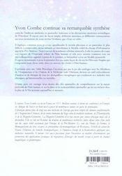 L'Homme Etoile ; Aux Sources De L'Energie - 4ème de couverture - Format classique