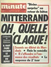 Minute N°831 du 15/03/1978 - Couverture - Format classique