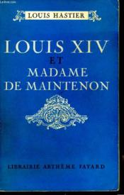 Louis Xiv Et Madame De Maintenon. - Couverture - Format classique