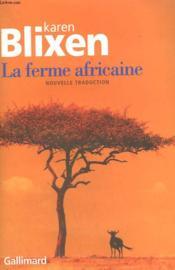 La ferme africaine - Couverture - Format classique