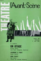 L'Avant-Scene - Theatre N° 266 - Un Otage De Brendan Behan / Jean Paris / Jacqueline Sundstrom - Couverture - Format classique
