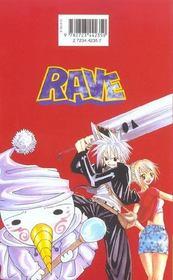 Rave t.4 - 4ème de couverture - Format classique
