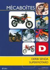 Mecaboites Derbi Senda Supermotard - Couverture - Format classique