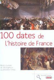 100 Dates De L'Histoire De France - Intérieur - Format classique