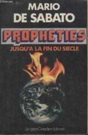 Propheties fin du siecle - Couverture - Format classique