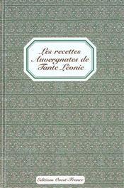 Les Recettes Auvergnates De Tante Leonie - Intérieur - Format classique