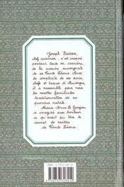Les Recettes Auvergnates De Tante Leonie - 4ème de couverture - Format classique