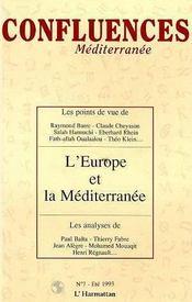 L'Europe Et La Mediterranee - Intérieur - Format classique