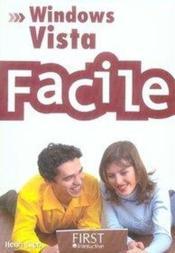 Windows vista facile - Couverture - Format classique