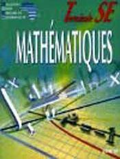 Mathematiques Ciam Terminale Se (Serie D) - Intérieur - Format classique