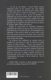 La Societe Et Son Double ; Essai Sur Les Formes Sociales - 4ème de couverture - Format classique