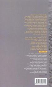 La seine etait rouge. paris, octobre 1961 - 4ème de couverture - Format classique
