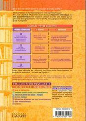 Preparation Methodologique Aux Tests Psychotechniques Tome 5a - 4ème de couverture - Format classique