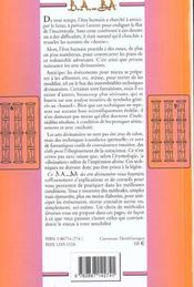 Arts divinatoires - 4ème de couverture - Format classique