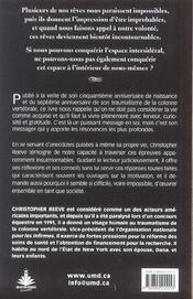 Rien N'Est Impossible - Reflexions Sur La Vie - 4ème de couverture - Format classique