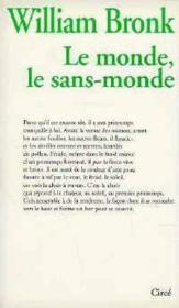 Monde, Le Sans-Monde (Le) - Couverture - Format classique