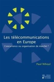 Les Telecommunications En Europe - Couverture - Format classique