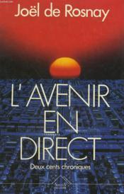 L'Avenir en direct - Couverture - Format classique