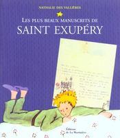 Plus Beaux Manuscrits De Saint Exupery - Intérieur - Format classique