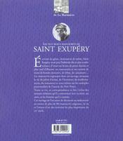Plus Beaux Manuscrits De Saint Exupery - 4ème de couverture - Format classique