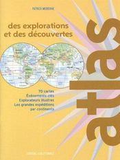 Atlas des explorations et des découvertes - Intérieur - Format classique