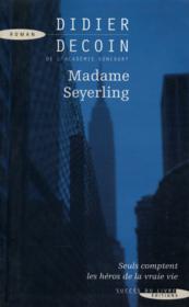Madame Seyerling - Couverture - Format classique