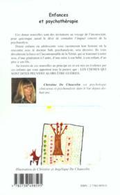 Enfance Et Psychotherapie - 4ème de couverture - Format classique