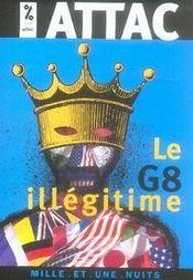 Le g8 illégitime - Intérieur - Format classique