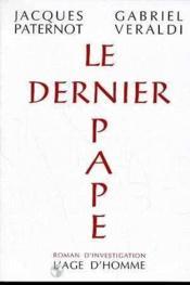 Le Dernier Pape - Couverture - Format classique