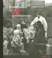 Je Me Souviens Du 16e Arrondissement - Intérieur - Format classique