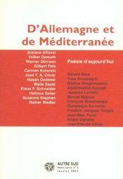 Revue Autre Sud ; Hors-Série T.2 ; Poésie D'Aujourd'Hui - Intérieur - Format classique