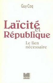 Laicite Et Republique - Intérieur - Format classique
