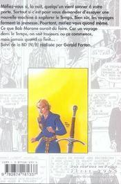L'epee du paladin - 4ème de couverture - Format classique