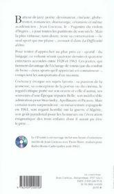 Jean Cocteau ; 28 autoportraits ; écrits et déssines (1928-1963) - 4ème de couverture - Format classique