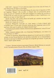 L'exil auvergnat de Marguerite de Valois - 4ème de couverture - Format classique
