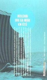 Helena ou la mer en été - 4ème de couverture - Format classique