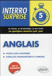 Vente livre :  Anglais 5e Cycle 4 Points Cles A Maitriser Exercices Chronometres Et Corriges  - Nantet