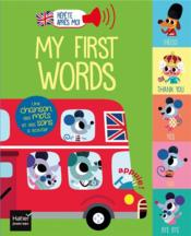 Vente  My first words  - Tiago Americo - Madeleine Deny - Morgane Raoux