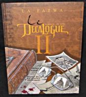 Le décalogue t.2 ; la fatwa - Couverture - Format classique