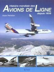Histoire mondiale des avions de ligne depuis 1908 - Intérieur - Format classique