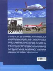 Histoire mondiale des avions de ligne depuis 1908 - 4ème de couverture - Format classique