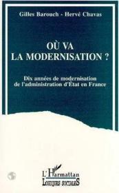 Ou Va La Modernisation - Couverture - Format classique