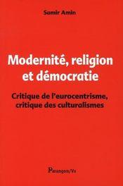 Modernité, religion et Démocratie - Intérieur - Format classique